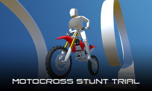 Motocross stunt trial Screenshot