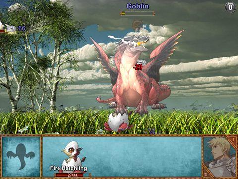 Screenshot Dracheninsel auf dem iPhone