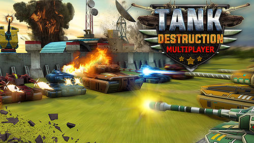 Tank destruction: Multiplayer Symbol