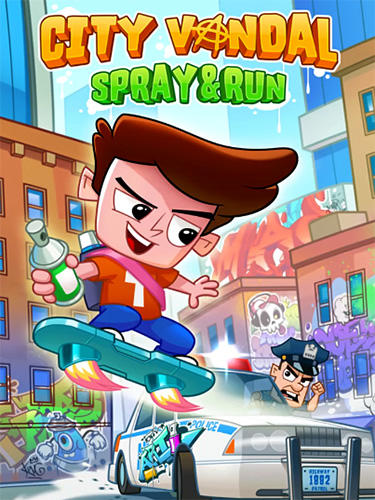 City vandal: Spray and run Screenshot
