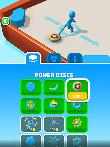 Battle disc Screenshot