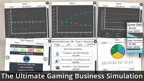 Game studio tycoon 3 para Android