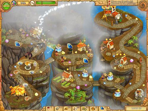 Screenshot Inselstamm 5 auf dem iPhone