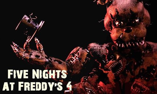 截图Five nights at Freddy's 4在iPhone