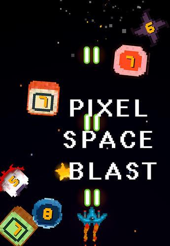 Pixel space blast captura de pantalla 1