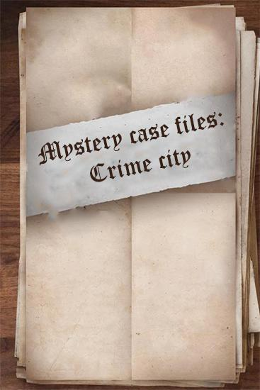 Mystery case files: Crime city icon