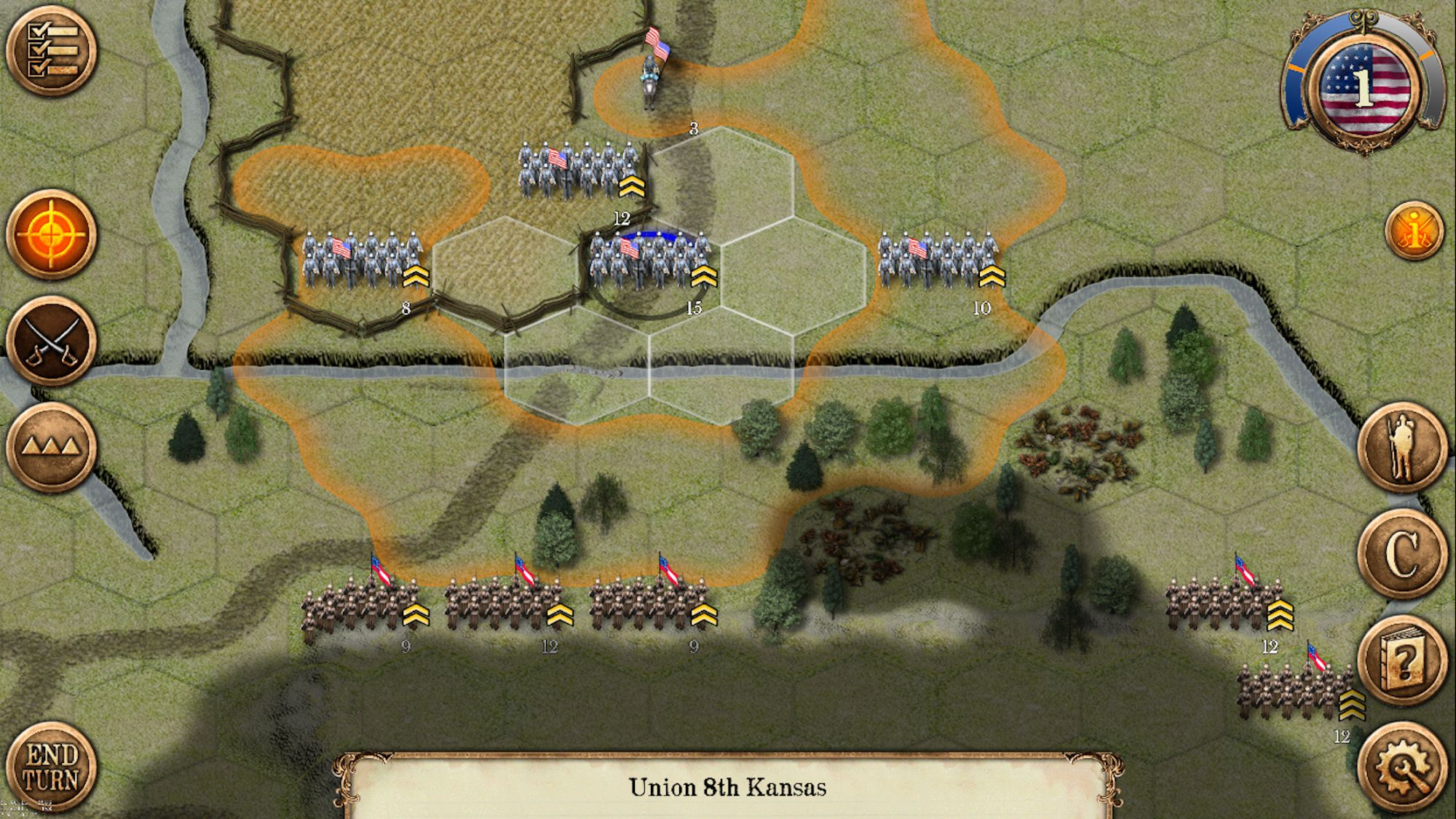 Chickamauga Battles screenshot 1
