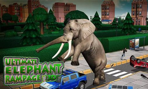 Ultimate elephant rampage 3D Screenshot