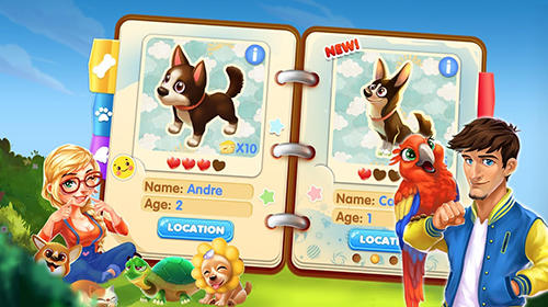 Pet oasis: Land of dreams für Android