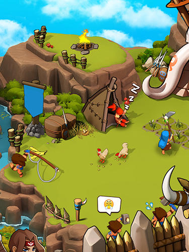 Online games Tribes age for smartphone