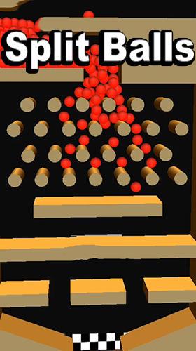 Split balls 3D Screenshot