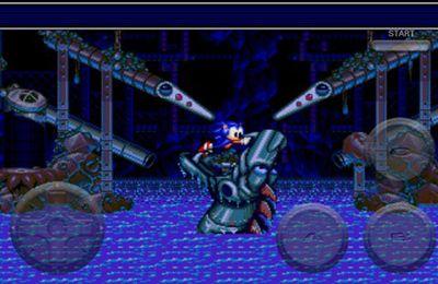 Screenshot Sonic Pinball auf dem iPhone
