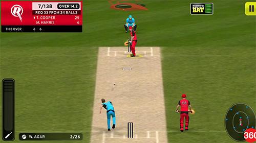 Big bash cricket pour Android