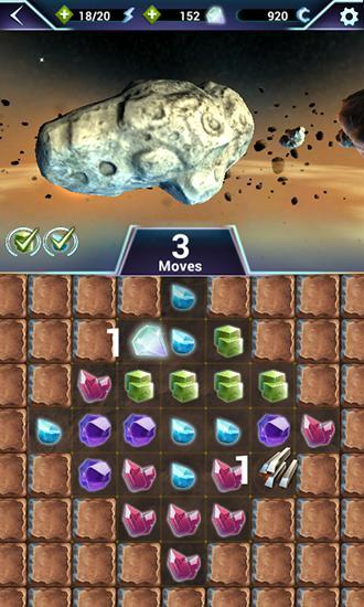 Arcade Anno 2205: Asteroid miner für das Smartphone