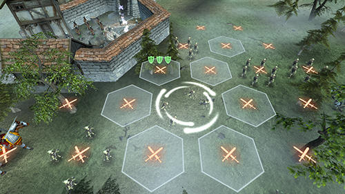 Hex commander: Fantasy heroes capture d'écran 1