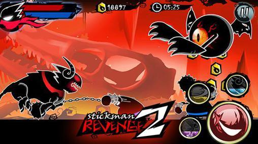 d'action Stickman revenge 2 pour smartphone