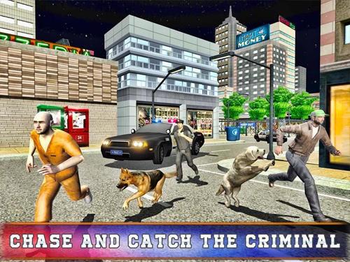 Police dog training simulator für Android