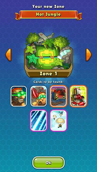 Jungle clash für Android