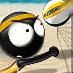 Stickman volleyball Symbol