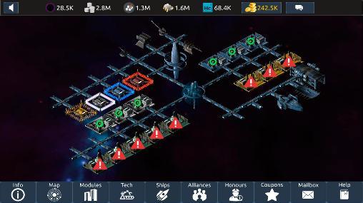 Infinite universe mobile für Android