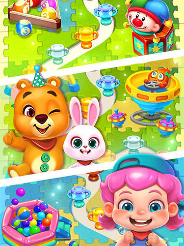 Toy party: Dazzling match 3 für Android