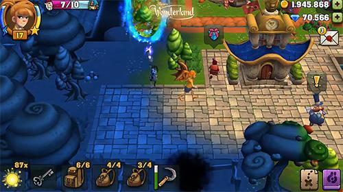 Abenteuer-Spiele Upjers: Wonderland für das Smartphone