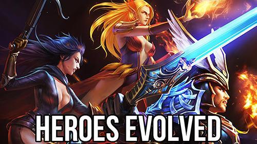 Heroes evolved captura de tela 1