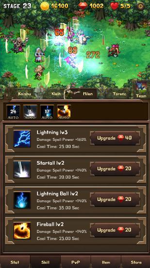 RPG Mini warrior für das Smartphone
