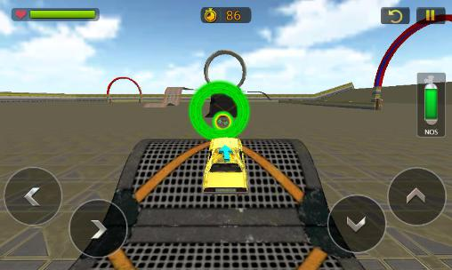Simulation games Car stunt race driver 3D for smartphone