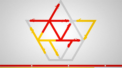 Lines: Physics drawing puzzle Screenshot
