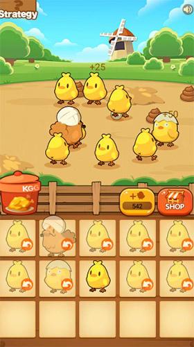 Chicken farm tycoon: Idle merge game für Android