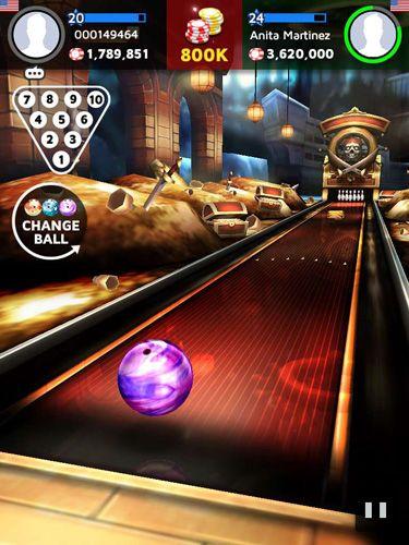 Simulator-Spiele: Lade Bowling König auf dein Handy herunter