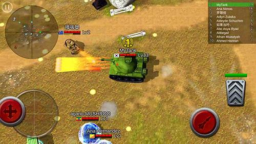 Battle tank für Android