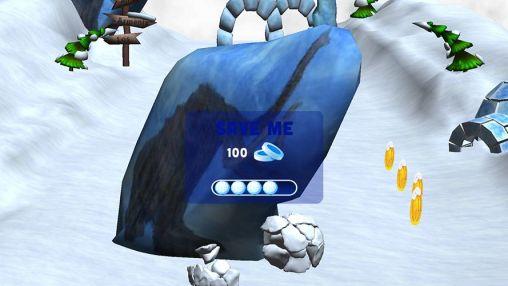 Arcade-Spiele Snowball effect für das Smartphone