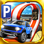 3D Monster truck: Parking game icono