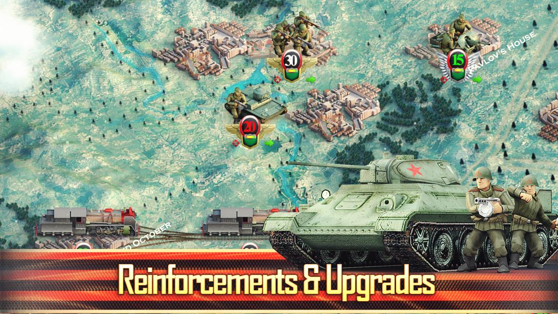 Frontline: The Great Patriotic War скріншот 1