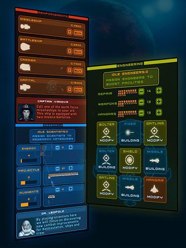 Weltraum Battlestation: First contact auf Deutsch