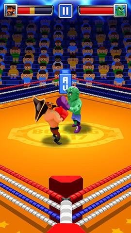 Arcade-Spiele One tap boxing für das Smartphone