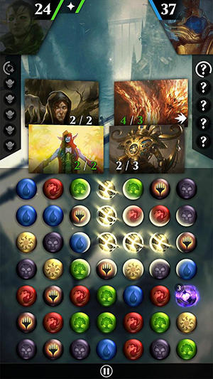 Magic: The gathering. Puzzle quest für Android