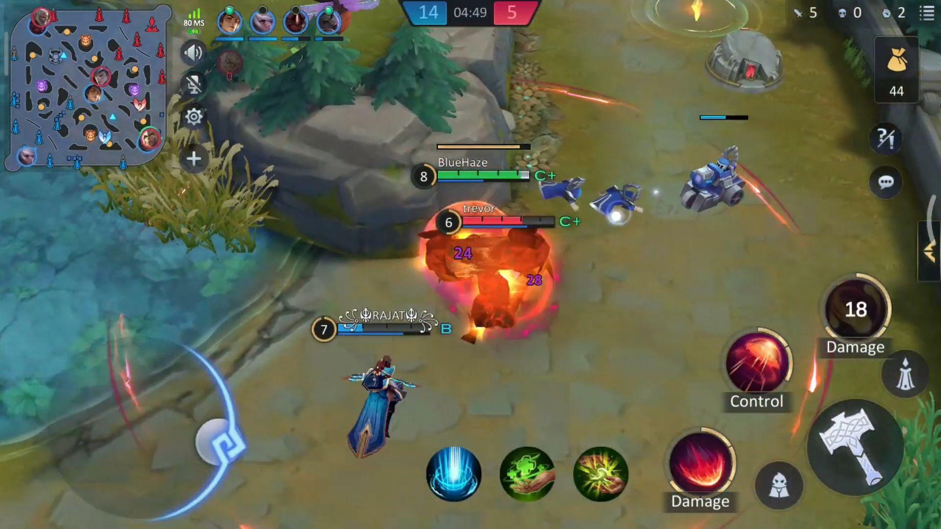 Champions Legion | 5v5 MOBA screenshot 1
