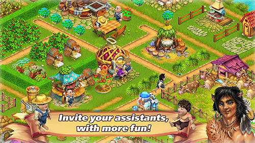 Farm tribe online: Floating Island für Android