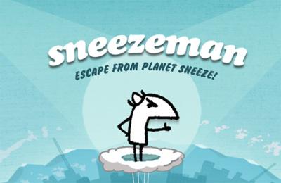 logo Hombre-estornudo: La fuga del planeta de estornudos