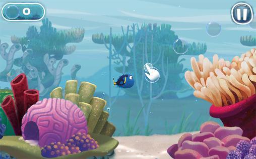 Spiele basierend auf Zeichentrickfilmen Disney. Finding Dory: Just keep swimming auf Deutsch