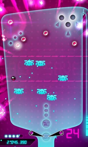 Arcade-Spiele Quantic pinball für das Smartphone