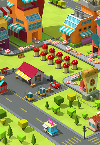 Pizza factory tycoon для Android