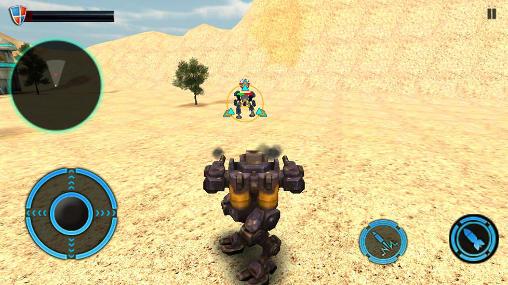 Actionspiele Mech robot war 2050 für das Smartphone