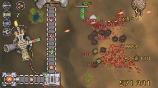 Shooter Blood diamonds: Base defense auf Deutsch