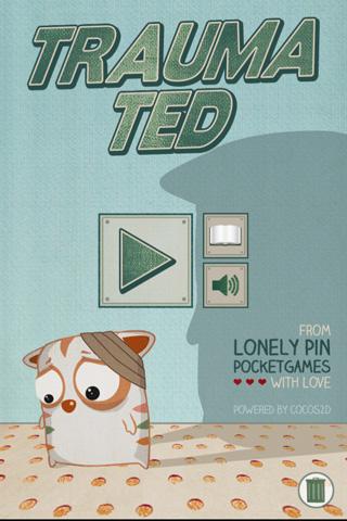 logo Ted traumatizado