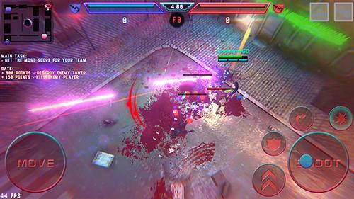 Actionspiele Hassle: Mobile online shooter für das Smartphone