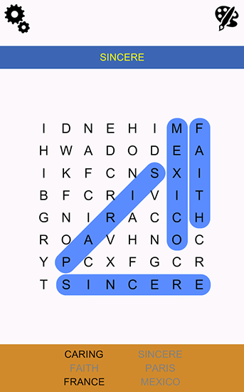 Word search epic für Android